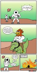 Space Jerks vs Cluxulax